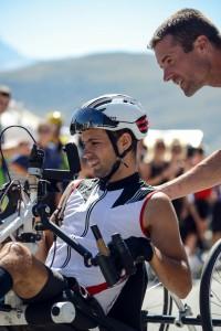 Florian Jouhanny sur le podium européen