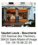 Vaudet Louis Boucherie
