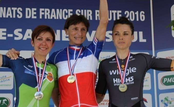 Amélie HILD au championnat de France Elites sur route