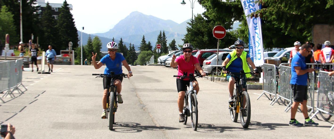 MONTEE CYCLISTE de CHAMROUSSE – VAE et Randonnée