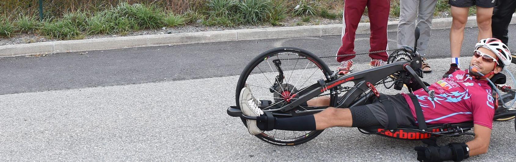 Florian JOUANNY, au Triathlon de Barcelone : HEROIQUE