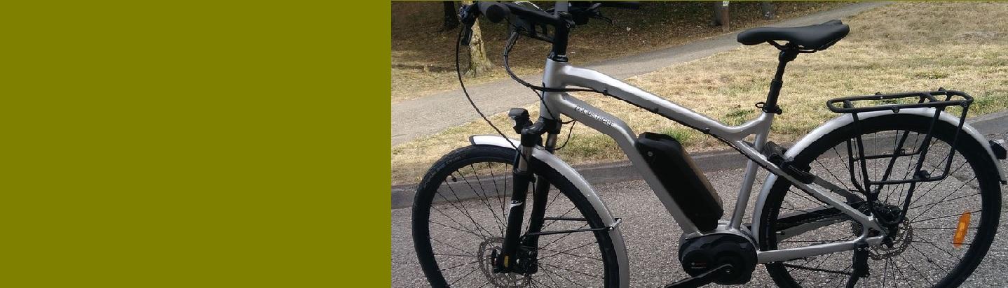 Vente d'un VAE – Vélo Assistance Electrique