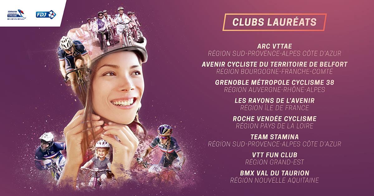 Le GMC38-EF acteur du cyclisme féminin