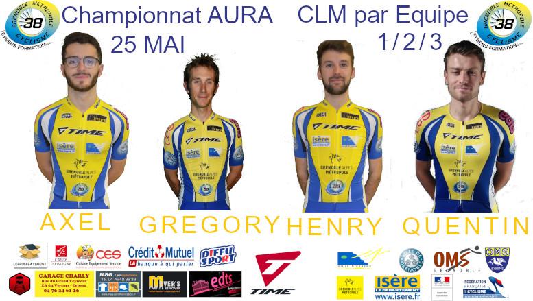Le GMC38-EF Vice-Champion Régional !
