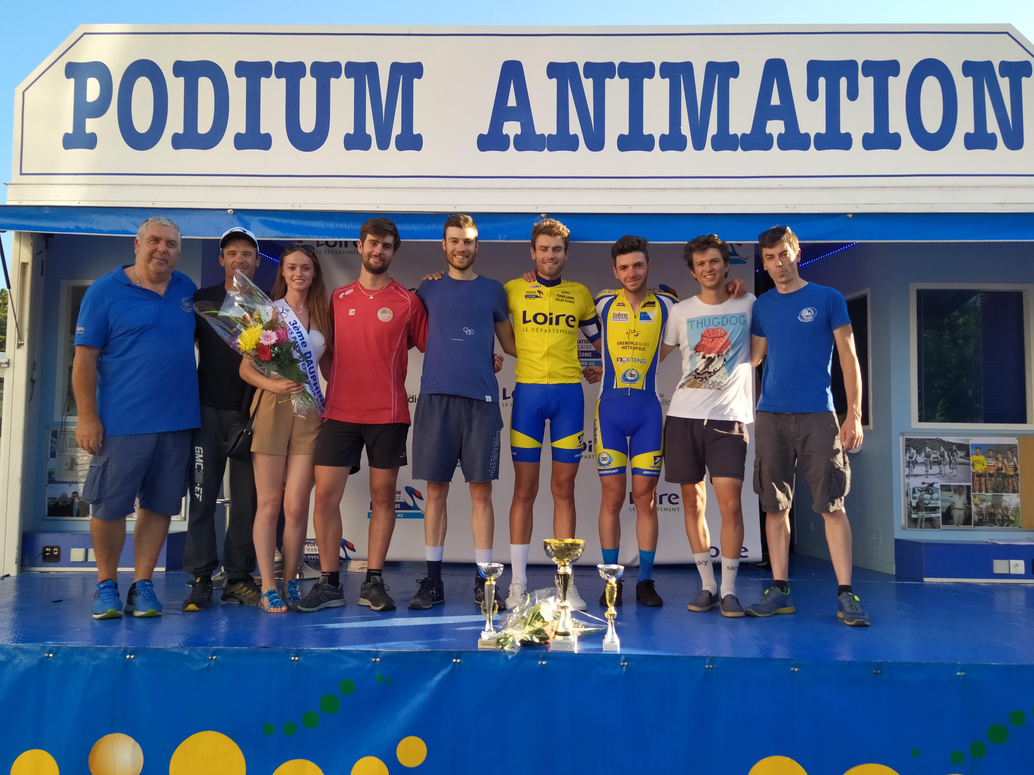 Une victoire collective au Tour du Pilat